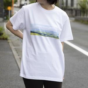 【寄付対象】【CHIKUGO百景】グライダー山Tシャツ(送料無料)