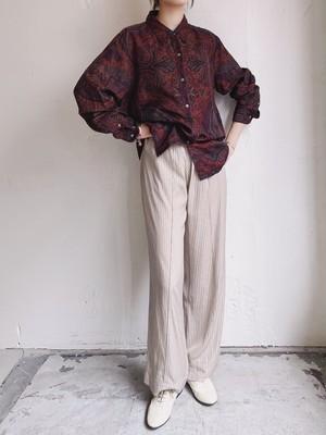 """Ralph Lauren"" vintage silk shirt"
