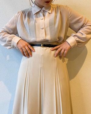 (PAL) see-through l/s blouse