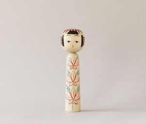 作並伝統こけし| 加納木地店 加納陽平工人/Traditional style of Sakunami kokeshi, made by Youhei Kanou, Japanese wooden kokeshi doll