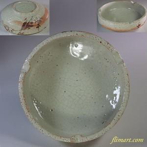 志野灰皿W6075