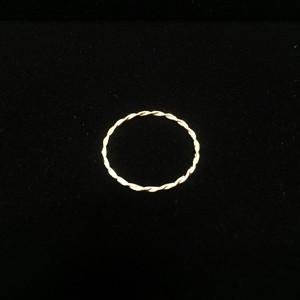 BRISEMY K18 twist ring ブライズミーツイストリング