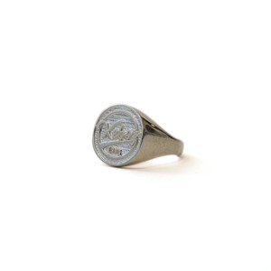 BB LOGO RING (SILVER 925)