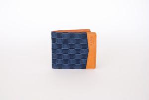 1702027-1 二つ折り財布(ダーク)