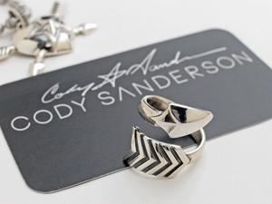 【直輸入純正品】 CODY SANDERSON コディサンダーソン 01-0276 ツイステッド・アロー・リング