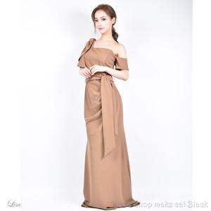 (13号) 3色展開 ロングドレス ¥25,704-(税込) キャバドレス ドレス パーティー イルマ IRMA  75113