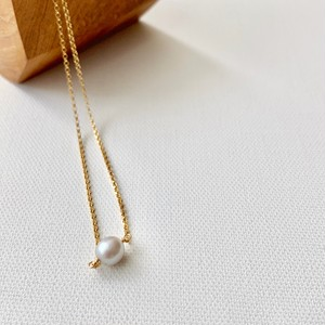 ishi jewelry Natural Stone Necklace / PEARL