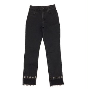 THE RAGGED PRIEST - DUSTER MOM JEAN (CHARCOAL)-
