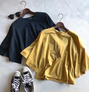 フレアスリーブTシャツ[Degnite collier]