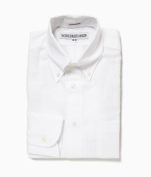 INDIVIDUALIZED SHIRTS / Ultra Light Poplin B.D Shirts StandardFit[WHITE]