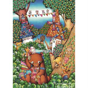 ペーパースタンド クマの果樹園