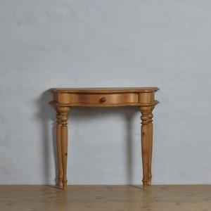 Console Table  / コンソールテーブル〈化粧台・花台・机・什器・カントリー・アンティーク・ヴィンテージ〉112290