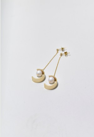 C-frame pierce Gold/White