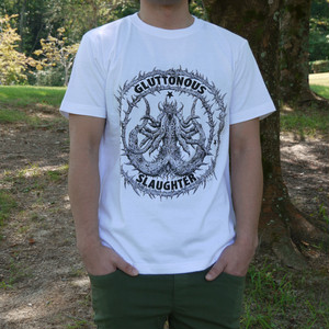 Secreting Coffin T-shirt White