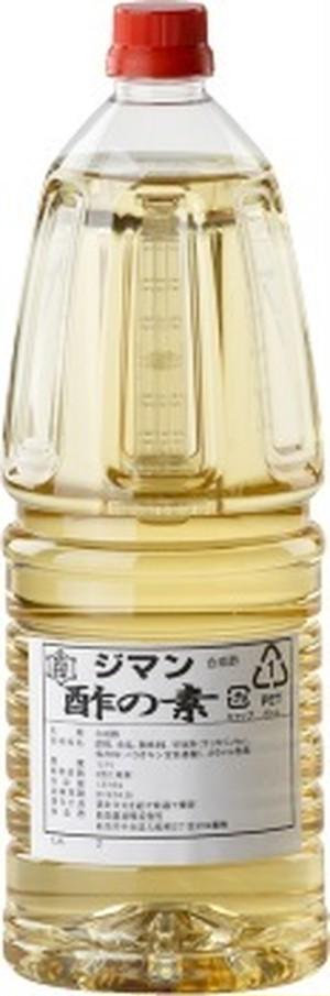 ジマン酢の素(濃厚タイプ) 1.8L×6本