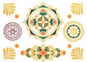 【SALE30%OFF】mini Sioou Mini Mandala タトゥーシール