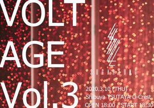 3/10 VOLTAGE Vol.3イベントチケット