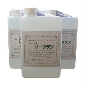 植物活性剤 「リーフラン」 国産 天然腐植資材 1L×3