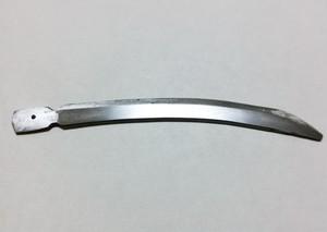 ハイス鋼ビット製ミニチュア太刀