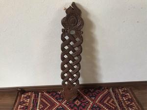 インド 木彫 スプーン掛け