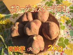 [2kg]ポタージュ&スイーツ向き『安納芋』