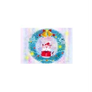 【選べるポストカード3枚セット】No.141 にゃんこリース