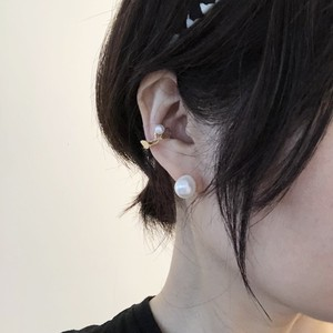 【jewelberry】ジュエルベリー_イヤカフ S アコヤパール5mm