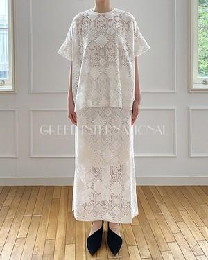 [送料無料] GREED(グリード) Native Embroidery ブラウス  2020秋冬物新作