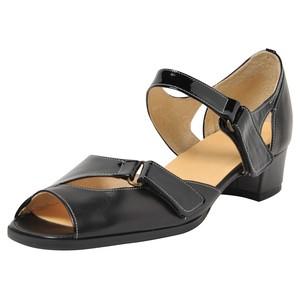 80%off》オフィスに最適!もちろん外出もO.K.》専用3Dインソール搭載》歩ノ靴honoka® 3157ブラック&エナメル