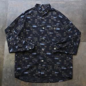 pattern all over design shirt