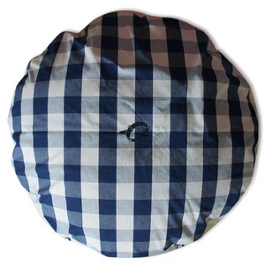 Round Dog Bed [L] Navy