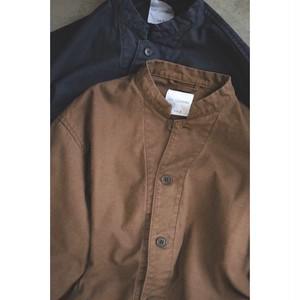 edit clothing  Washed cotton JK(ウォッシュドコットンジャケット/バイオブラウン)