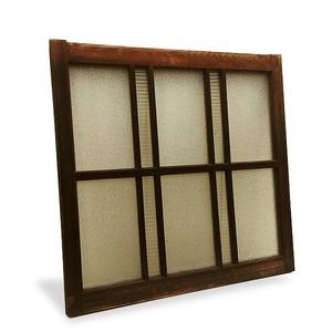 ■配送不可【古い建具 木枠引き窓 (C)】