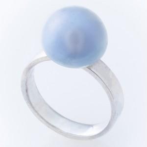 藍パールのリング
