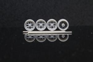 7mm フェローチェ 4穴 タイプ 3Dプリント ホイール 1/64 未塗装