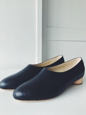 _Fot  wood  heel pumps 25 circle◯