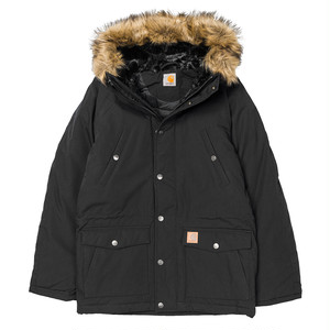 CARHARTT カーハート TRAPPER PARKA - Black / Black