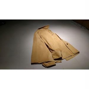open-collar corduroy jacket