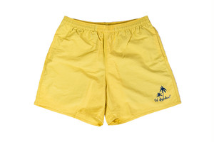 5/8[土]発売【palm tree nylon shorts】/ yellow haze