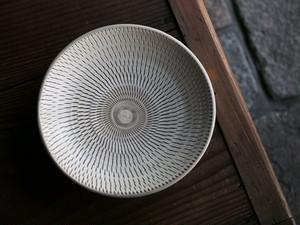 小鹿田焼 坂本正美窯 7寸平皿
