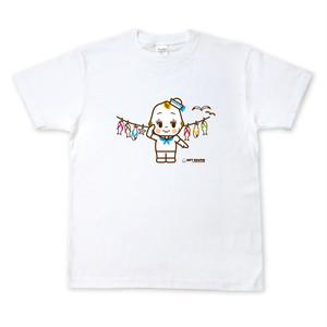 キューピーコラボ【限定Tシャツ】 【GIFT KEWPIE】【湘南】  セーラーキユーピー