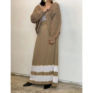 BAD・タイダイラインスカート (0S15003E)
