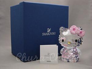 SWAROVSKI 『Hello Kitty Hearts(ハローキティ・ハート)・2012年限定品』 スワロフスキー商品番号1142934