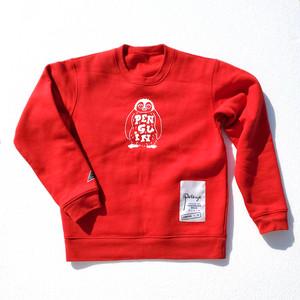 クルーネックスウェット(ペンギン)Red 【10着限定】