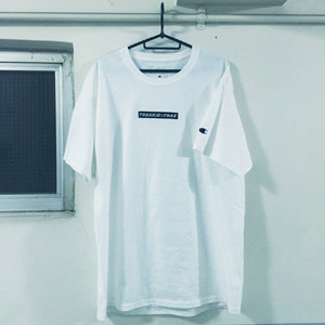 Champion Logo Tee White