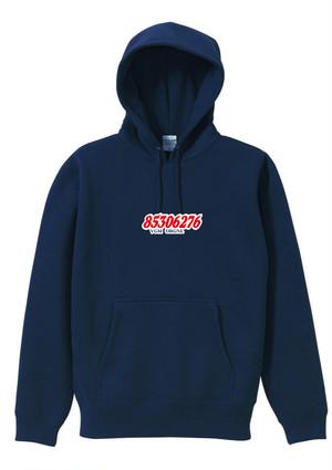 phonetic symbol Hooded Sweatshirt (NAVY)