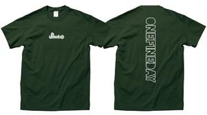 newロゴTシャツ (グリーン)