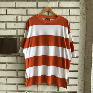 90's MONTIQUE FAT BORDER TEE (DEAD STOCK)