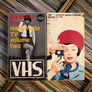 pizzicato five / readymade TV volume one & two 2本セット【中古ビデオテープ】