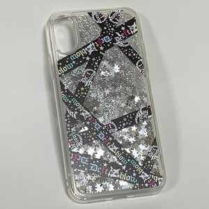 iPhone X・Xsケース スターグリッター